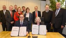 Wirtschaft und Stadt setzen sich nun als Partner für effiziente und umweltgerechte Mobilität ein