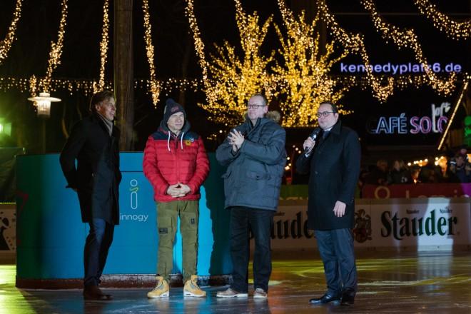 Oberbürgermeister Thomas Kufen eröffnet ESSEN ON ICE 2019