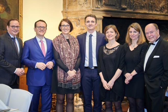 Neujahrsempfang der Gesellschaft Verein mit der Delegation aus Grenoble