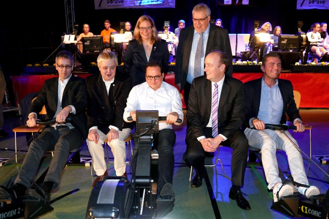 Oberbürgermeister Thomas Kufen eröffnet den 24. NWRV Indoor- Cup
