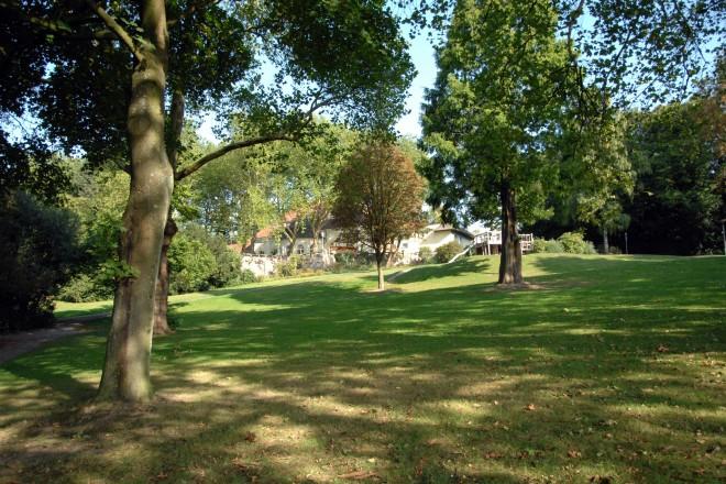 Der Steeler Stadtgarten wird zum Denkmal.