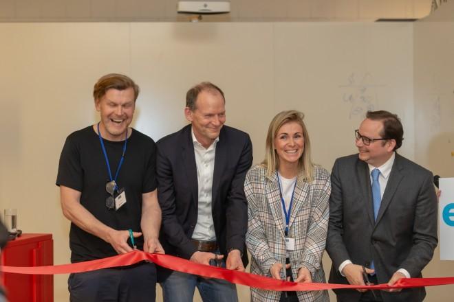 Oberbürgermeister Thomas Kufen besucht die Erlebniswerkstatt der Beck GmbH & Co KG.