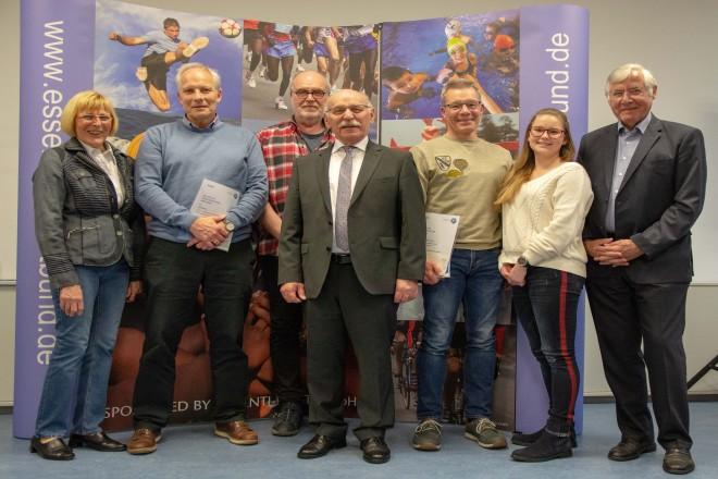 Sportabzeichen Ehrentag mit Bürgermeister Rudolf Jelinek