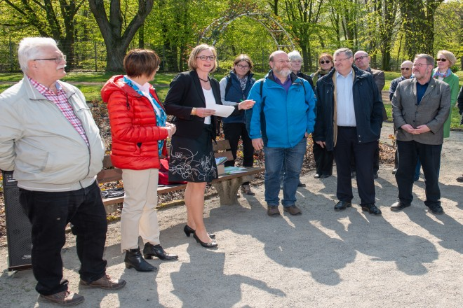 Foto: Pressekonferenz: 90 Jahre Grugapark