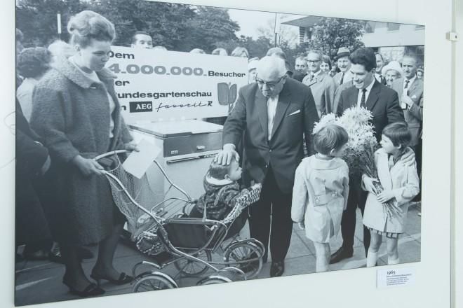 Foto: Pressekonferenz: 90 Jahre Grugapark. Fotoausstellung zum Jubiläum.