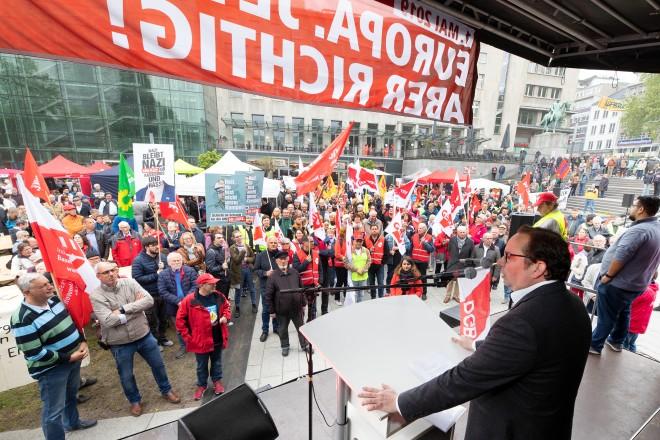 Maikundgebung mit Oberbürgermeister Thomas Kufen