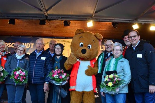 Oberbürgermeister Thomas Kufen eröffnet die Happy Days