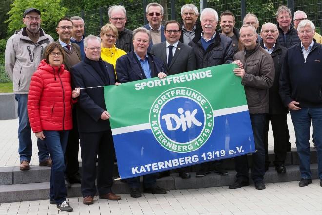 Wiedereröffnung der modernisierten und ausgebauten Sportanlage Meerbruchstraße