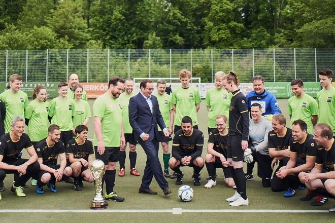 Oberbürgermeister Thomas Kufen besucht den Ruhrcup 2019 der Mercartor- Stiftung