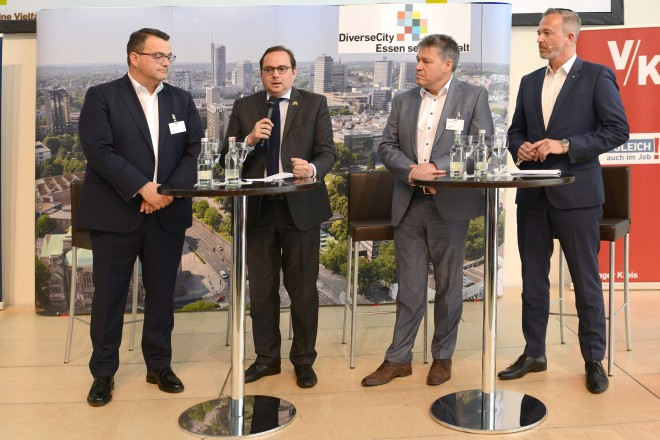 Diversity-Veranstaltung der Stadt Essen, innogy und thyssenKrupp