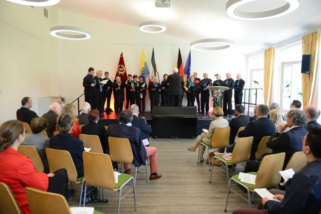 100 Jahre SPD Ortsverein Essen Kupferdreh/Byfang Auftritt des Singkreis Kupferdreh