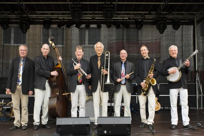 Die Seatown Seven sorgen mit Hot Jazz und Swing für ein musikalisches Highlight.