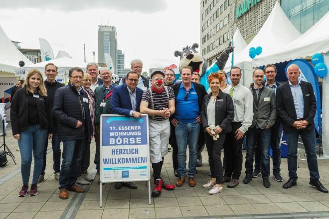 Oberbürgermeister Thomas Kufen eröffnete am Samstag, 25. Mai, die 17. Essener Wohnungsbörse.
