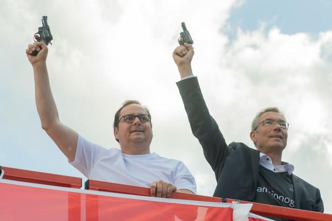 Foto: Startschuss durch Oberbürgermeister Thomas Kufen.