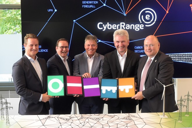 Eröffnung des Trainingszentrums für Cyber-Sicherheit der innogy SE