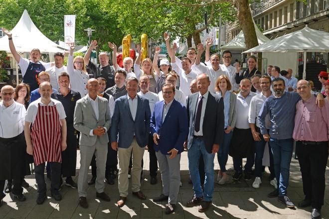 Oberbürgermeister Thomas Kufen eröffnet die 21. Gourmetmeile Essen…verwöhnt