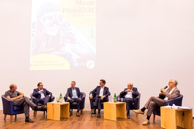 """Round-Table-Gespräch 2019 """" Neue Mobilität """" mit Oberbürgermeister Thomas Kufen"""