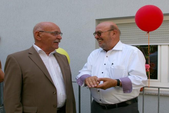 Einweihung der zweiten Elternhaus- Erweiterung an der Kaulbachstraße mit Bürgermeister Rudolf Jelinek