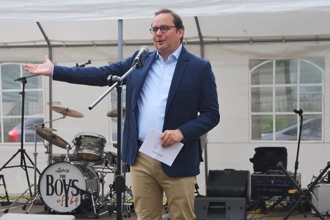 Oberbürgermeister Thomas Kufen eröffnet den Tag der Vereine in Haarzopf/ Fulerum
