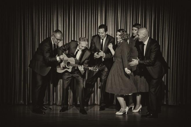 """Die Band """"ErdbeerShake!"""" lädt zu einer musikalischen Zeitreise in den Grugapark."""