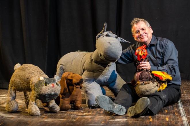 Foto: Das Lille Kartoffler Figurentheater zeigt am Sonntag die Bremer Stadtmusikanten