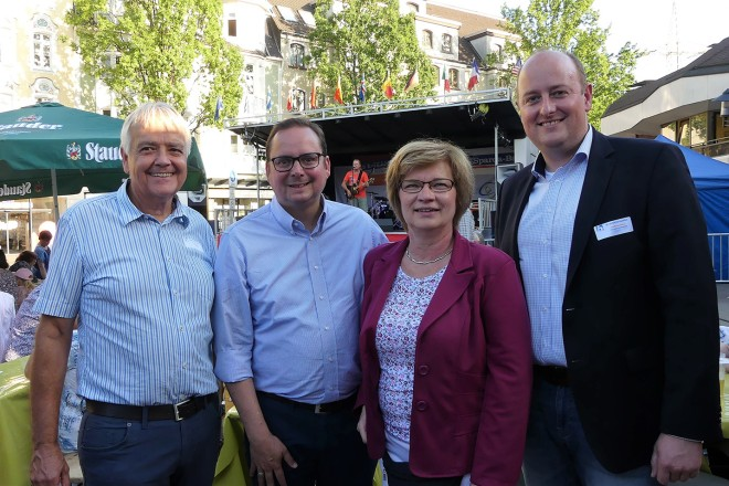 Foto: Oberbürgermeister Thomas Kufen eröffnet das 38. Borbecker Marktfest