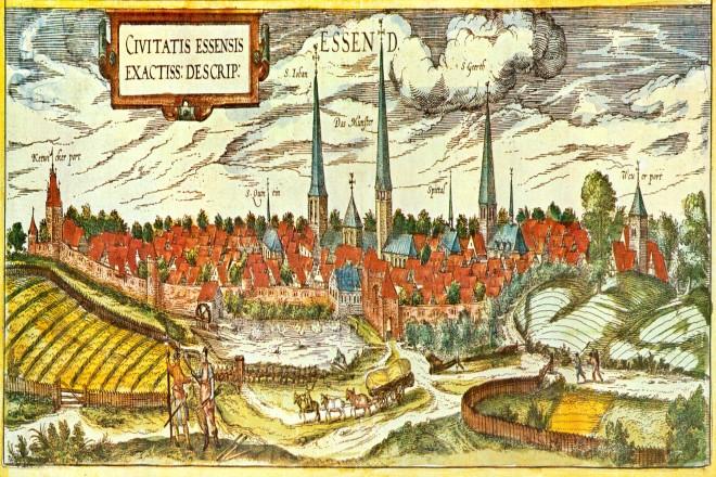 Foto: Kupferstich aus dem Städtebuch von Georg Braun und Franz Hogenberg, 1581