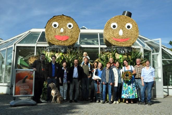 Essen erntet bietet vom 3. bis zum 6. Oktober allen Generationen fünf Tage Urlaub auf dem Bauernhof mitten in der Stadt. Foto: Grugapark Essen