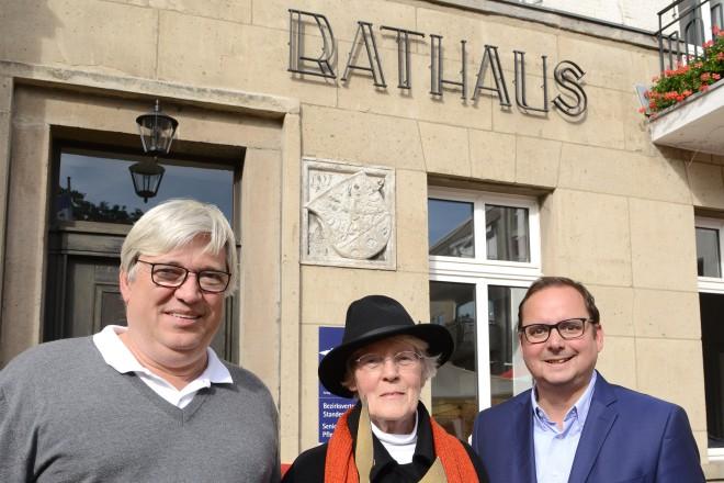 Oberbürgermeister Thomas Kufen eröffnete zusammen mit dem Bezirksbürgermeister Dr. Michael Bonmann den Tag des Rathauses in Kettwig.