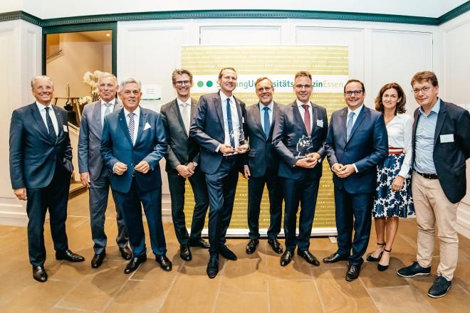 Sommerempfang der Stiftung Universitätsmedizin mit Oberbürgermeister Thomas Kufen ( 3.v.r )