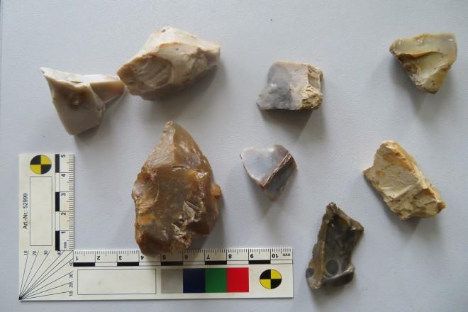Foto: Kleine Auswahl von Funden aus Fischlaken
