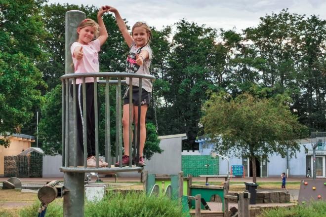 Foto: Die Ferienbetreuung im Altenessener Bürgerpark kommt bei den Kindern gut an. Foto: Jugendhilfe Essen