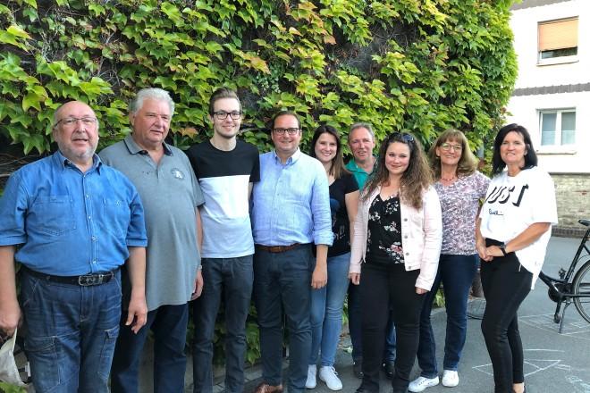 Oberbürgermeister Thomas Kufen besucht das Sommerfest der KG Böse Borbecker Buben