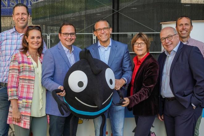 Die Eröffnung der Europäischen Mobilitätswoche 2019 auf dem Willy-Brand-Platz.