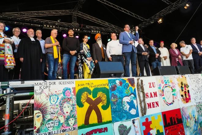Oberbürgermeister Thomas Kufen eröffnet das Arche Noah Projekt 2019