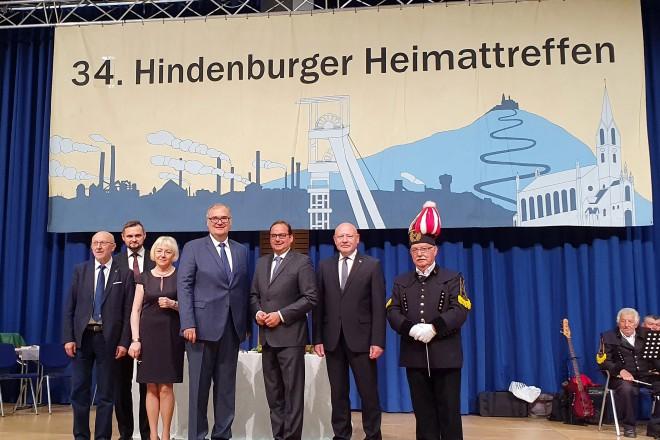Oberbürgermeister Thomas Kufen eröffnet das Hindenburger Heimattreffen 2019