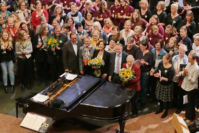 70 jähriges Jubiläum der Jugendkantorei der Auferstehungskirche.