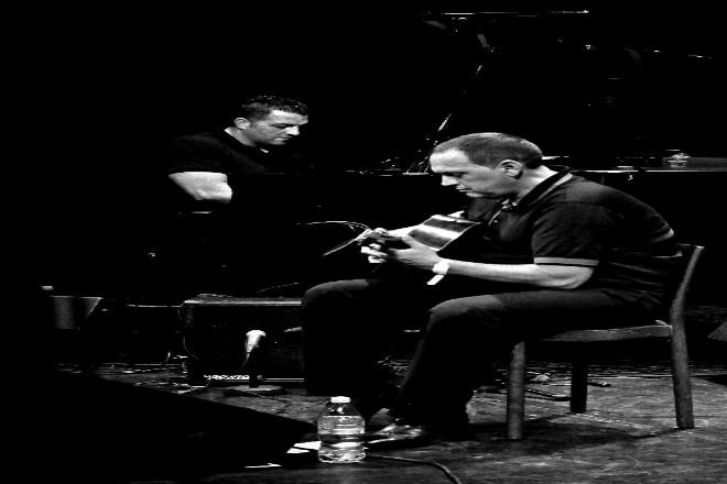 Foto: Stochelo Rosenberg & Jermaine Landsberger Quartett