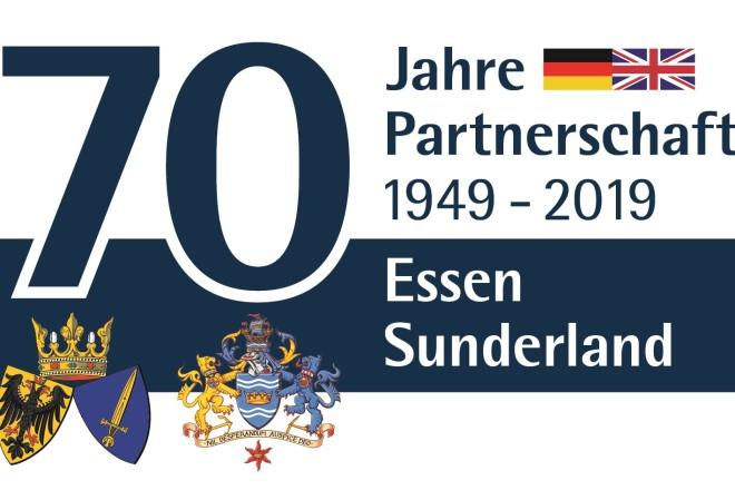 70 Jahre Städtepartnerschaft zwischen Essen und Sunderland.