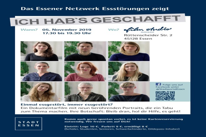 "Abbildung: Poster Dokumentation ""Ich hab's geschafft"""