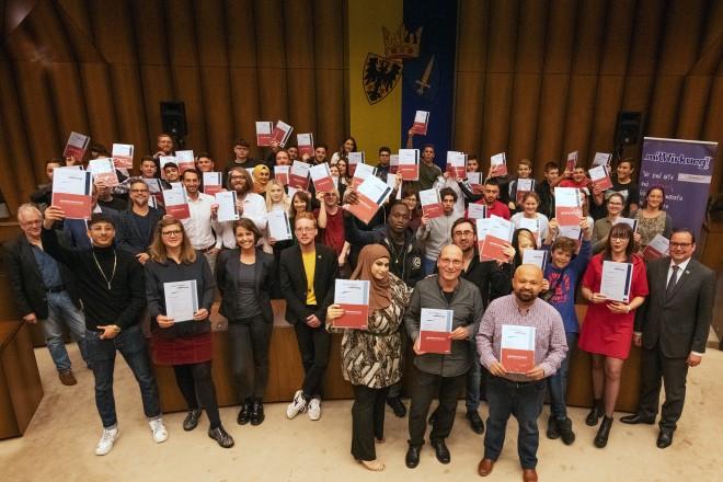 """Zertifizierung von Jugendlichen im Rahmen des Projekts """"mitWirkung!"""""""