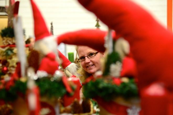 Foto: Auch in diesem Jahr findet wieder der großer Adventsbazar der Jugendberufshilfe Essen statt.