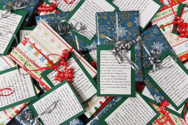 Weihnachtsgeschichten-Tauschbörse. Foto: Stadtbibliothek Essen