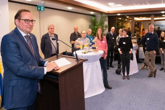 Foto: Über 60 Essener Ehrenamtliche waren der Einladung des Oberbürgermeisters zum Ehrenamtsempfang gefolgt.