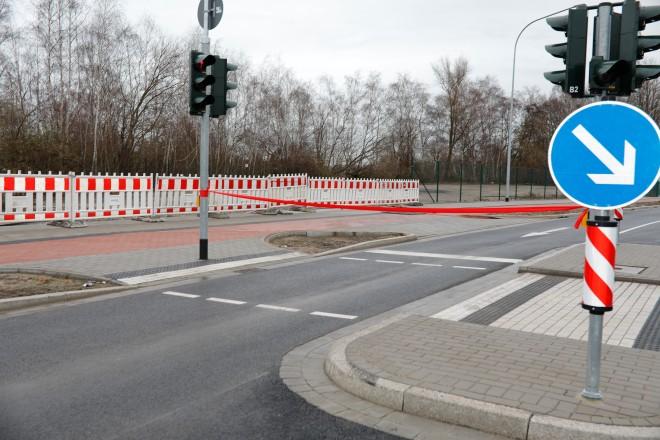 Eröffnung Zubringerstraße A40/ Am Technologiepark