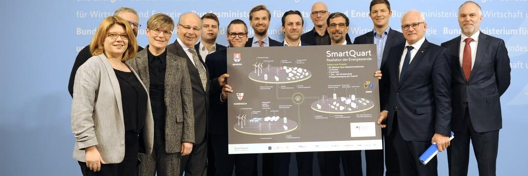 """SmartQuart wird erstes """"Reallabor der Energiewende"""""""