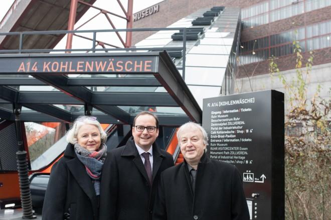 Foto: Oberbürgermeister Thomas Kufen bei der Vorstellung des Programms für das große Museumsfest anlässlich des 10-jährigen Jubiläums des Ruhr Museums