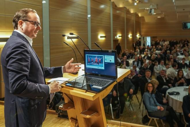 Neujahrsempfang des ESPO 2020 mit Oberbürgermeister Thomas Kufen