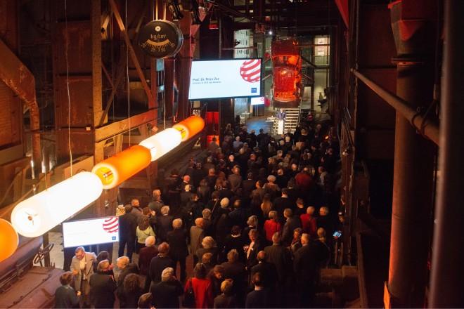 Der Jahreskulturempfang der Stadt Essen fand im Red Dot Design Museum auf dem Gelände des UNESCO-Welterbes statt. Foto: Elke Brochhagen, Stadt Essen