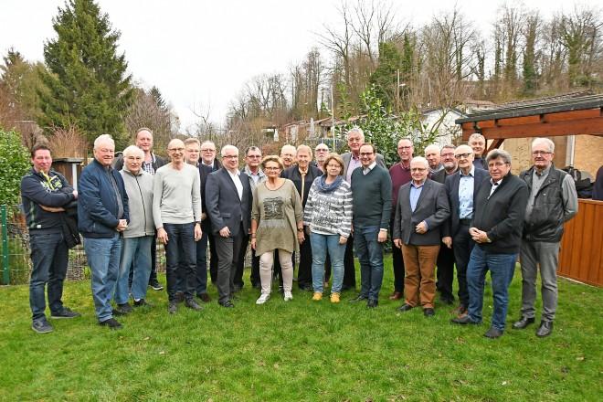 Oberbürgermeister Thomas Kufen beim politischen Frühschoppen des Gartenbauvereins Steele-Mitte e.V..Foto: Norbert Janz